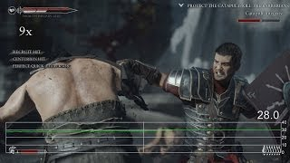 Ryse Gameplay Frame-Rate Tests