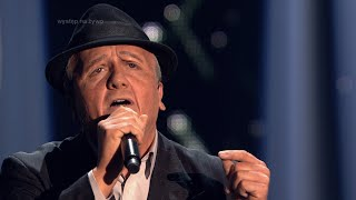 Bartek Kasprzykowski jako Leonard Cohen Twoja twarz brzmi znajomo