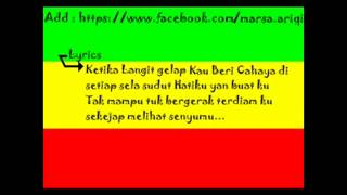 Video Dhyo Haw Pelangi Baruku With Lirik 1 download MP3, 3GP, MP4, WEBM, AVI, FLV September 2018