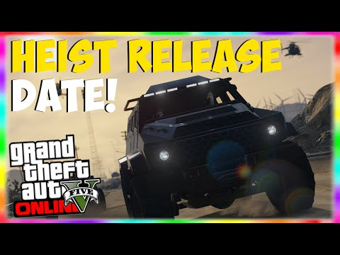 GTA 5 Heists: CONFIRMED Release Date!