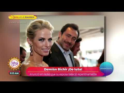 Fallece la esposa de Demián Bichir a los 35 años | Sale el Sol