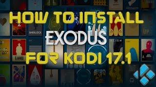 How to install Exodus for Kodi 17.1 Krypton (2017)