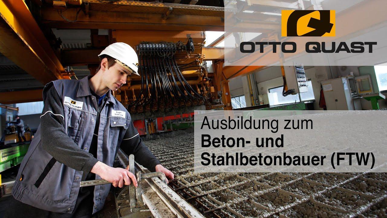 Ausbildung zum Beton- und Stahlbetonbauer (Fertigteilwerk ...