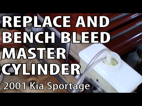 How To Replace And Bench Bleed A Brake Master Cylinder