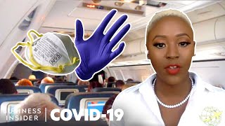 Flight Attendants On How The Coronavirus Affects Their Jobs