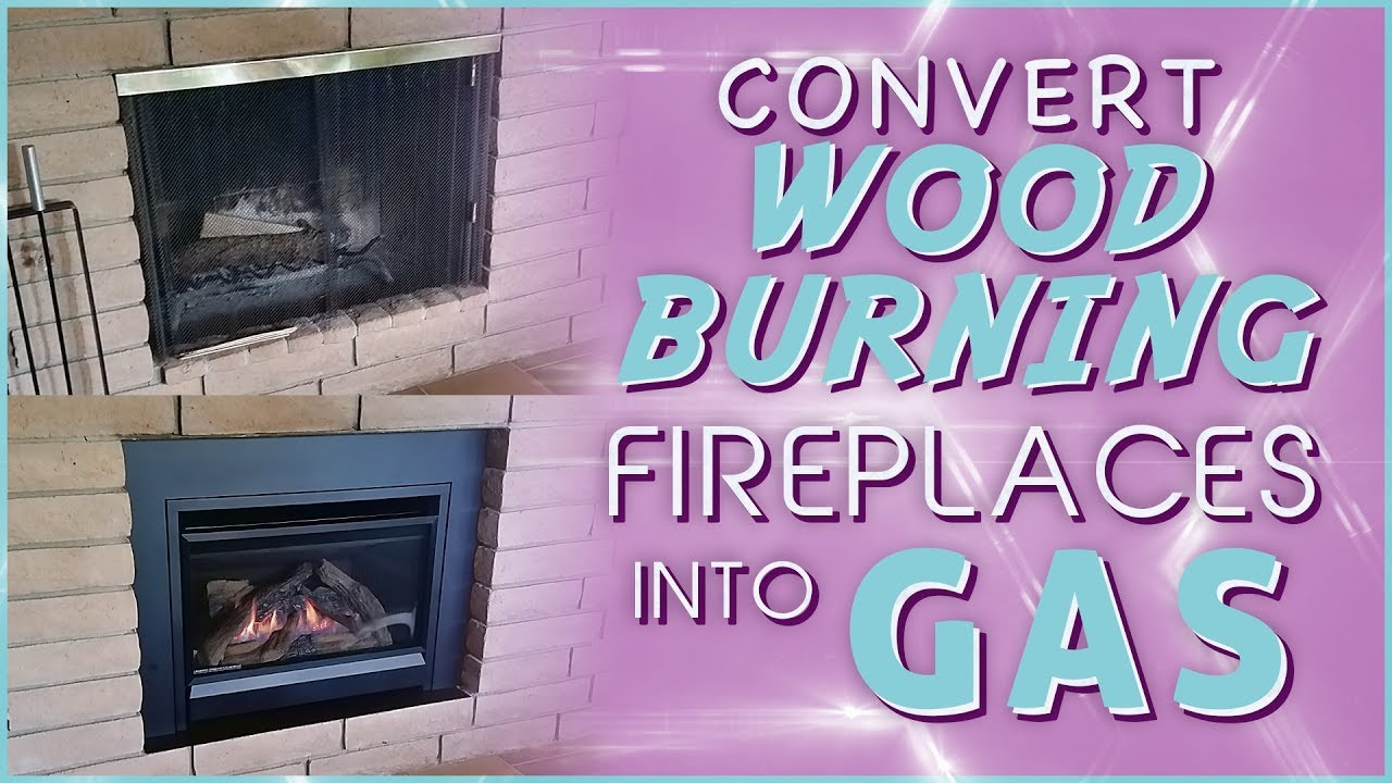 convert wood burning fireplace to gas. How To Convert Your Wood Burning Fireplace Into Gas O