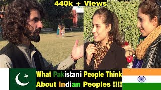 What Pakistani people think about India 2018 Social Experiment | Pakistani people know about india