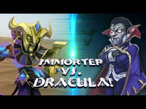 Immortep VS Vlad Dracula