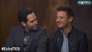 Paul Rudd and Jeremy Renner Best Interview Clips