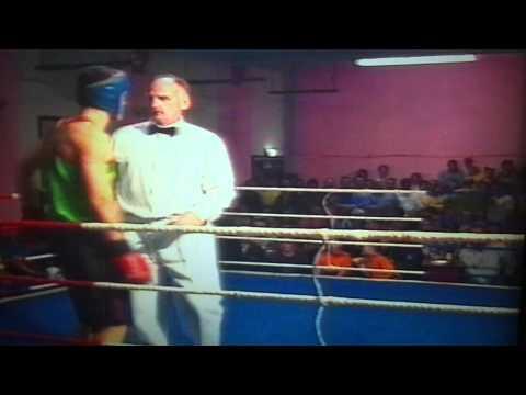Lyndon Johnson in Welsh Boxing
