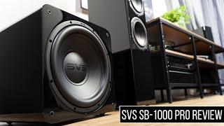 SVS SB1000 PRO Subwoofer Review