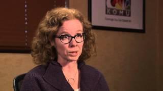 KOMU 8 Anchor Jim Riek interviews Melissa Click