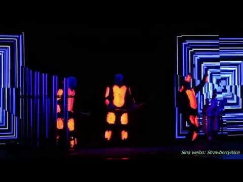 【Strawberry Alice】Blue Man Group World Tour - Shanghai 2, Shanghai Culture Square, 03/12/2016 .