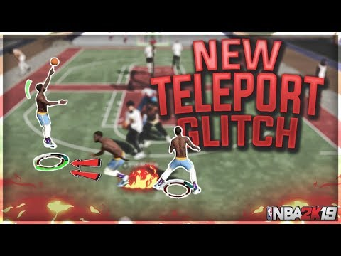 NEW TELEPORT GLITCH - OVERPOWERED OFF BALL CHEESE - NBA 2K19