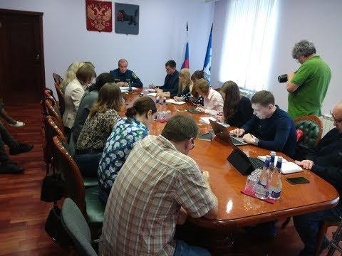 Встреча губернатора Левченко с журналистами 28072019