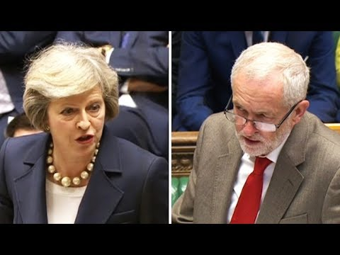 Jeremy Corbyn Closing In On Theresa May