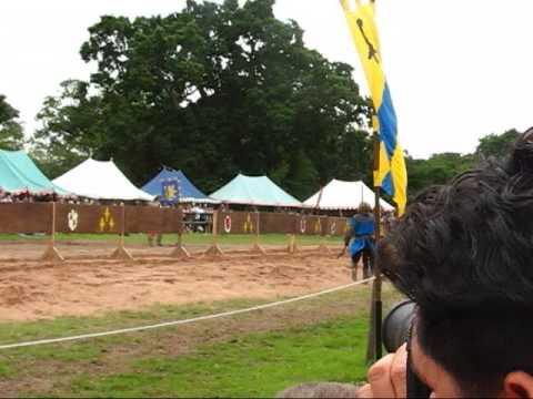 Warwick Castle - Jousting Show