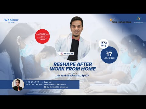 Reshape After Work From Home (Webinar)