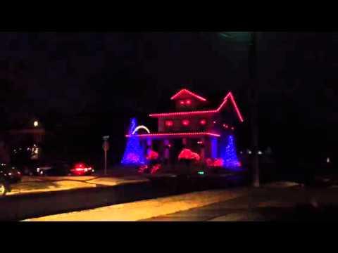 Dancing Christmas lights Okc