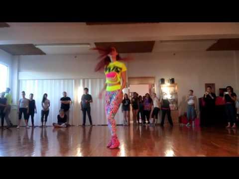 Life Through Dance presenta Dance Workshop Aguascalientes, Urban Latin Betty Álvarez