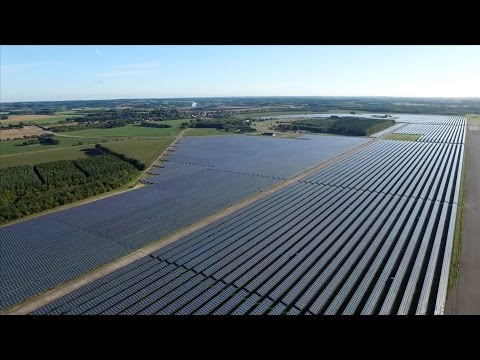 Delta 50.4MW Landmark Solar PV Project in Vandel, Denmark featuring M50A Solar Inverters