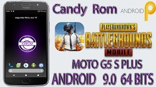 🔴GamePlay PUBG MOBILE📲Candy Rom 9.0 Pie  64 BITS/MOTO G5S PLUS/XT1802-SANDERS