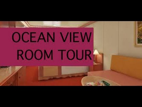 Carnival Freedom Cabin 2475 Ocean View State Room Tour - November 2015