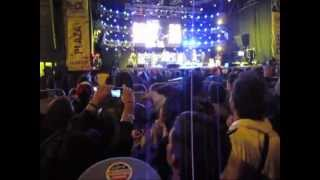 Steel Pulse en Bogotá. Life without music (Rollerskates). Rock al Parque 2012.