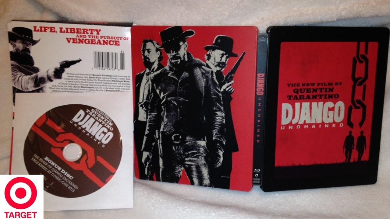 Django Unchained SteelBook Target Exclusive Blu-ray/DVD ...  Django Unchaine...