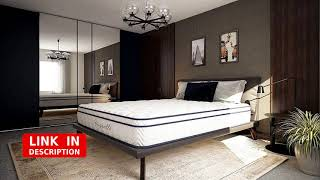 Vesgantti 10.2 Inch Multilayer Hybrid Queen Mattress - Multiple Sizes & Styles revieww