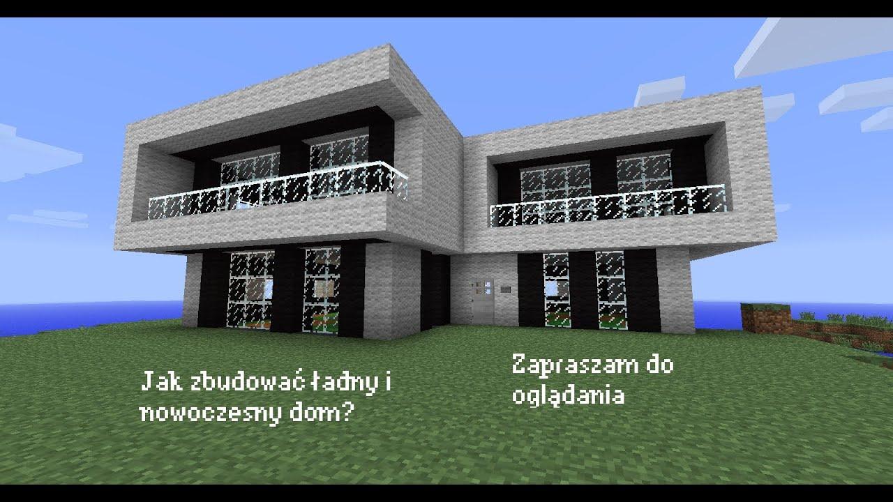 Jak Zbudowac Ladny Dom W Minecraft Youtube