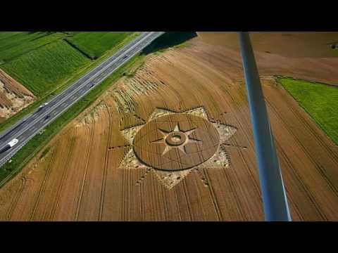 Cerchi nel grano in Piemonte- Crop Circle