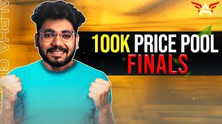 🔴H¥DRA | Alpha! - FINALS OF 100K PRIZE POOL! + NEW VLOG OUT on @Alpha Vlogs 😍 || PUBG MOBILE! 🤯