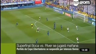 Boca-River: Final de la Copa Libertadores se jugará este domingo