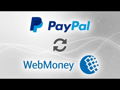 PayPal To Webmoney WMZ