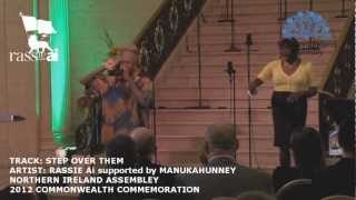 Rassie Ai  - Step Over Them. Commonwealth Day Performance at NI Assembly