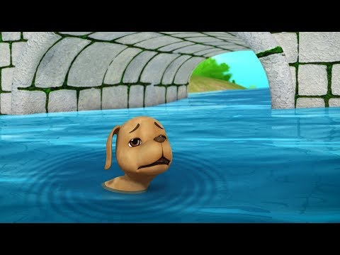 The Dog And His Reflection | Telugu Stories For Kids | Infobells