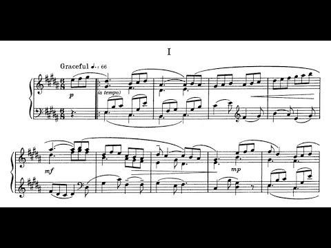 Ned Rorem - 3 Barcarolles (audio + sheet music)
