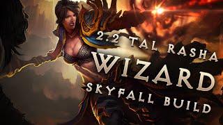 best 2 2 tal rasha skyfall wizard build gear diablo 3 reaper of souls guide