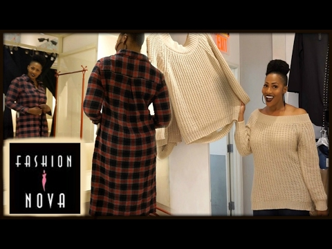 Come WITH Me To Fashion Nova⎮Fashion Nova Haul/Try On⎮Tall Girls