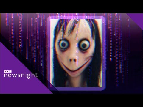Momo Challenge: The viral hoax - BBC Newsnight