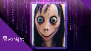 Momo Challenge: The viral hoax - BBC Newsnight