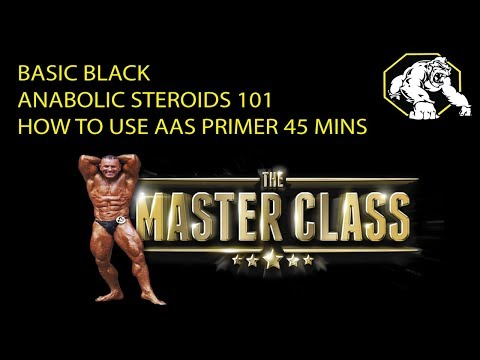 "Basic Black -  How to use Anabolic Steroids ""Safer"""