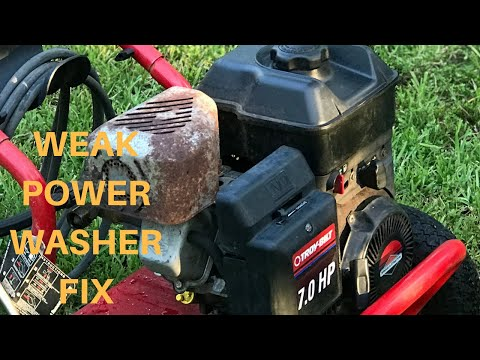How to Fix A Power Washer (Carburetor cleaning)