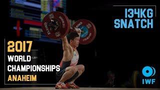 Yoichi Itokazu | 134kg Snatch