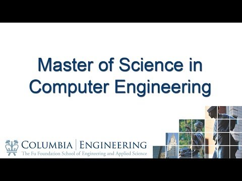 Master of Science in Computer Engineering