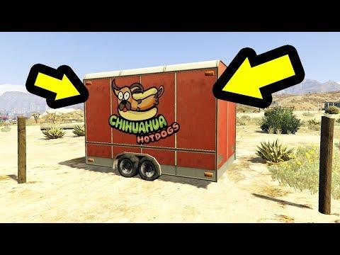 لا تقترب من هذه العربة الخاصة بالأكلات السريعة في جي تي أي 5 | GTA V Secret Food Van