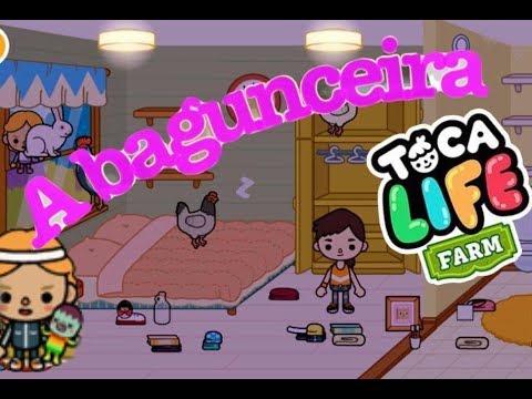 Toca Life Farm-fazenda- A BAGUNCEIRA