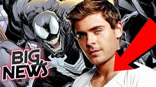 [ Rumor ] Zac Efron is Sony's R-Rated Venom For Spiderman Spin-Off Movie