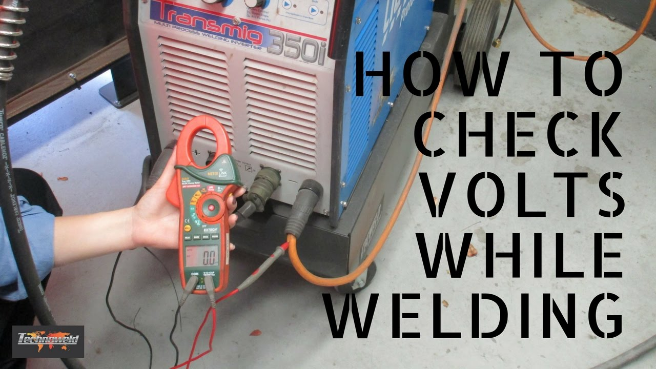 clamp meter how to check volts when welding [ 1280 x 720 Pixel ]